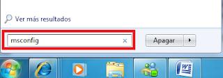msconfig en windows 7