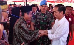 Ini Harapan Jokowi Setelah Serahkan Sertifikat Secara Simbolis di Parepare