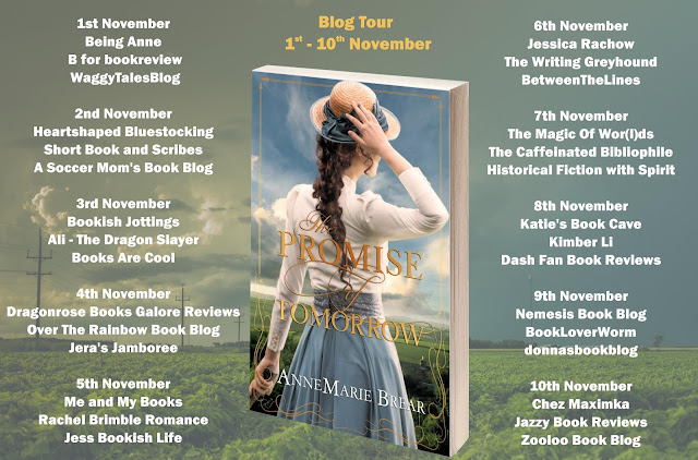 the-promise-of-tomorrow, annemarie-brear, book, blog-tour