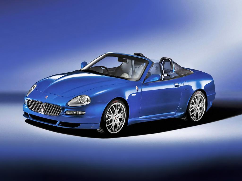 Luxury Cars: Maserati Gransport Spyder Cars