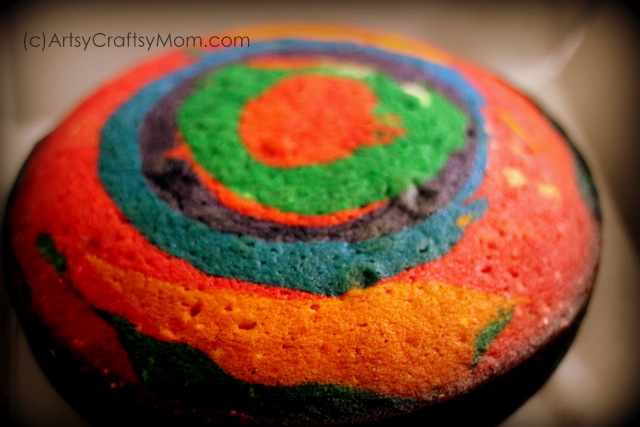 How Long Is Cake Mate Decorating Icing Good For : Rainbow cake - Birthday Celebrations - Artsy Craftsy Mom