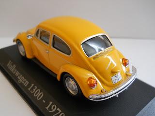 coche a miniatura volkswagen escarabajo
