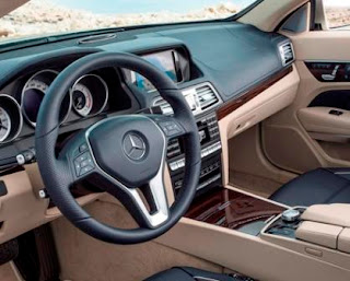 2015 Mercedes E400 Convertible Interior