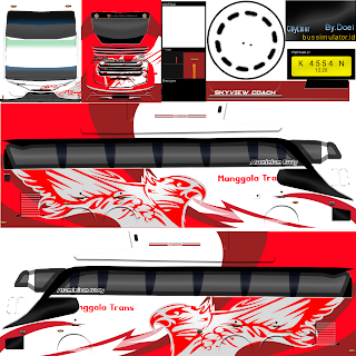 Livery PNG Jernih Bus Simulator Indonesia Part 1