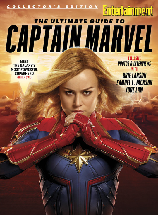Captain Marvel Entertainment Weekly special cover