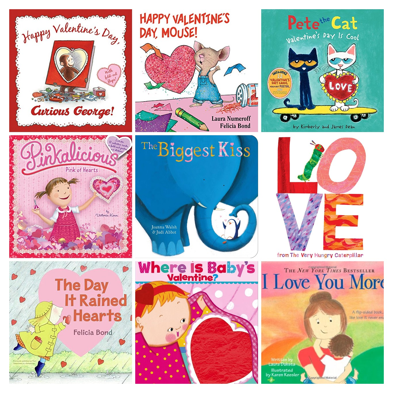 If You're Like Me And Resolved This Year To Be A Little More On Top Of  Things, Here Are Some Valentine's Day Book Ideas For Your Littles Almost One  Month In