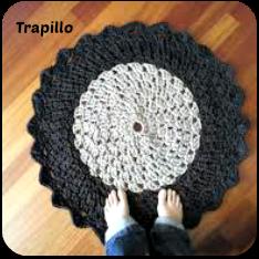 Trapillo a crochet