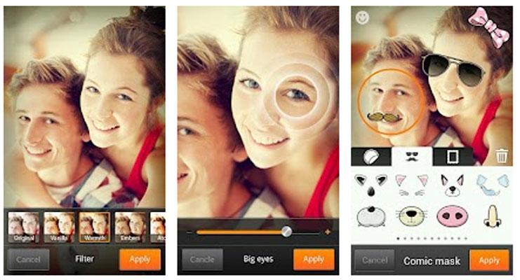 تعرف على أفضل تطبيقات تصوير السيلفي لهواتف أندرويد وهواتف آيفون