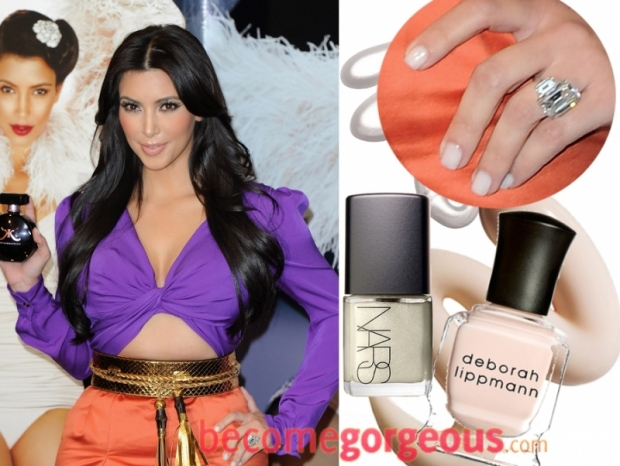 Idea kim k nude nails