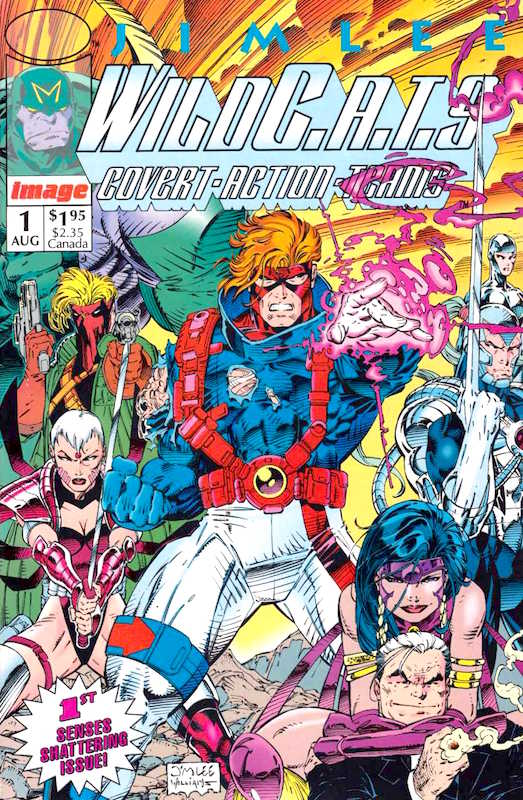 WildC.A.T.s #1 By Jim Lee and Brandon Choi Inks: Scott Williams Letters: Mike Heisler Colors: Joe Rosas, Digital Chameleon.