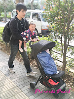小石川後樂園-茉莉號推車