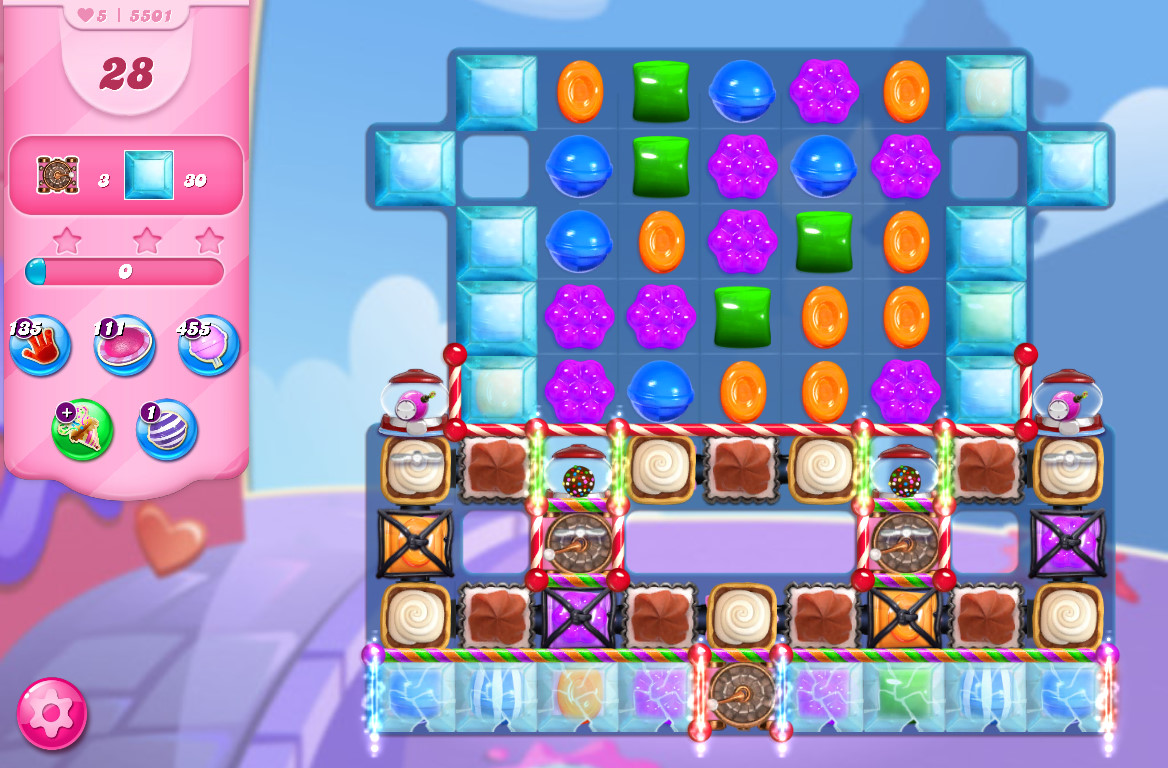Candy Crush Saga level 5501