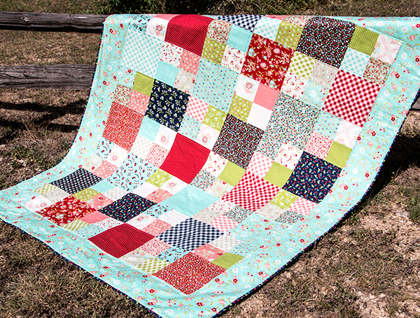 Fat Quarter Shop s Jolly Jabber: Layer Cake Checkmate: Free Pattern with Video Tutorial by Fat ...