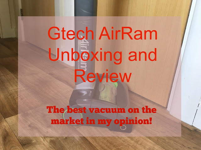 Review of the Gtech AirRam Mk2 Vacuum Cleaner, superb suction and very easy to empty