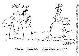 Image result for holier than thou