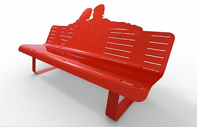 Thomas de Lussac's Whimsical Outdoor Benches