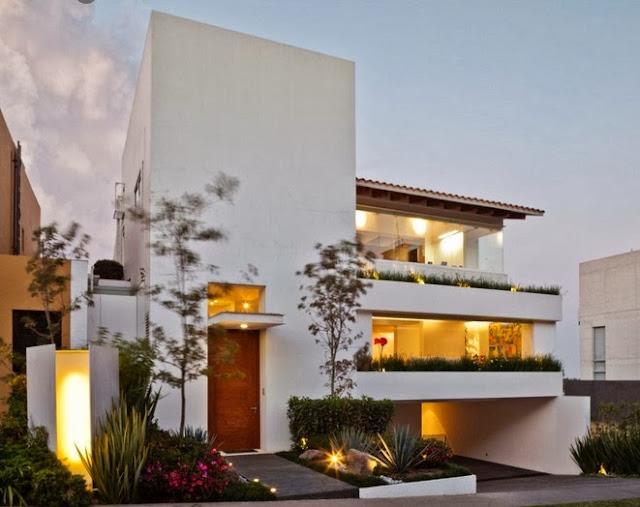casa moderna de tres pisos dise o de casas home house design