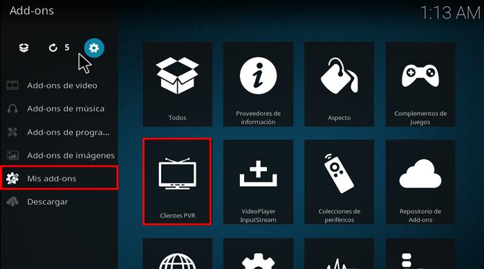 Kodi: Cómo Configurar PVR - Iptv List M3U – [Ver canales de TV en vivo]
