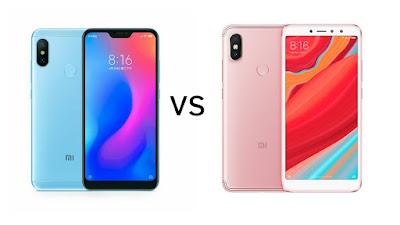 Xiaomi Redmi 6 Pro vs Xiaomi Redmi Y2
