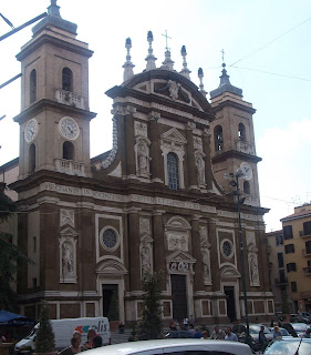 The Cattedrale San Pietro in Frascati, which houses the tombstone of Charles Edward Stuart