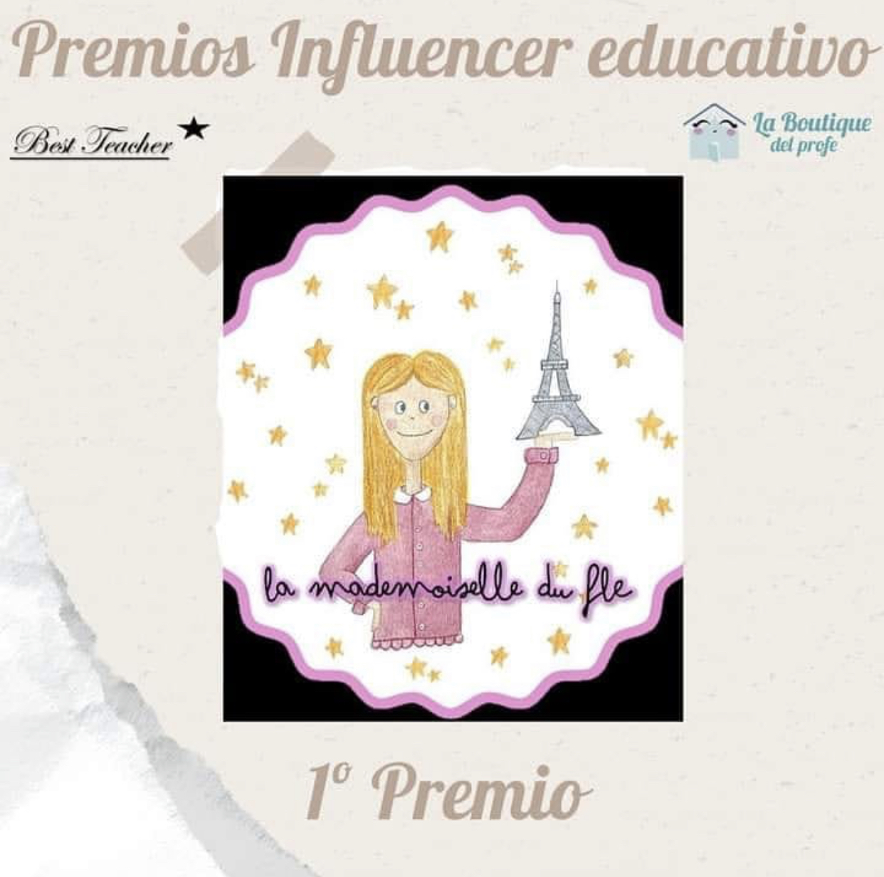 Ganadora Premio Influencer Educativo 2020