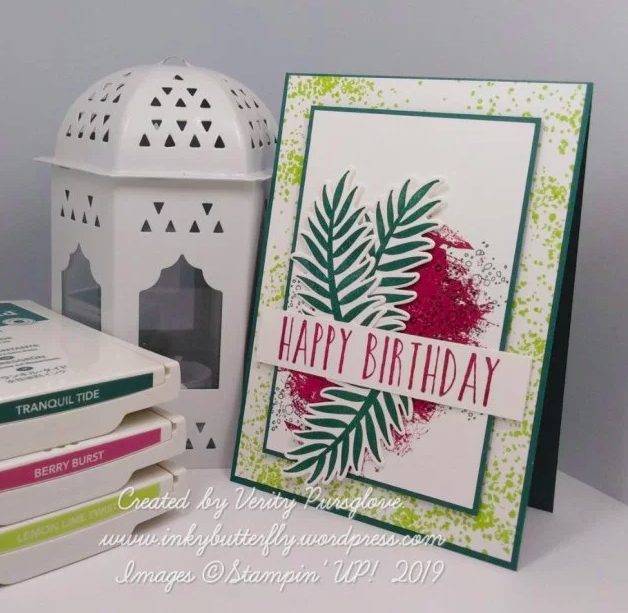 The Project Share Project #19 Stampin Up! Nigezza Creates