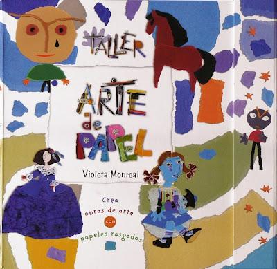 ARTE DE PAPEL VIOLETA MONREAL