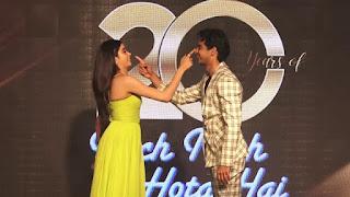 Janhvi Kapoor At KKHH 20 Years Celebrations in Juhu