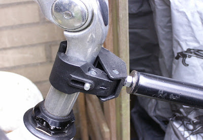 Montage Lenkstange Fahrrad