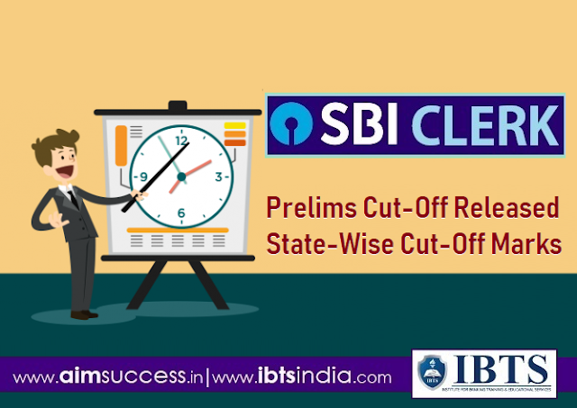 SBI Clerk Prelims Cut-Off 2018 Released Check State-Wise Cut-Off Marks
