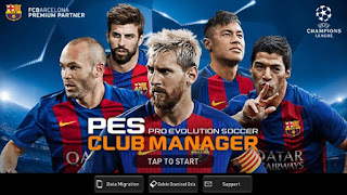 PES Club Manager APK DATA for Android 4.2+