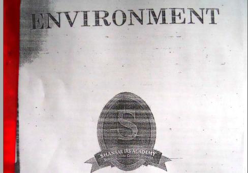 Shankar Ias Academy Environment Book