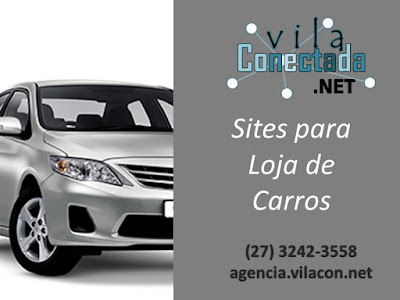 Site para Loja de Carros e Automóveis