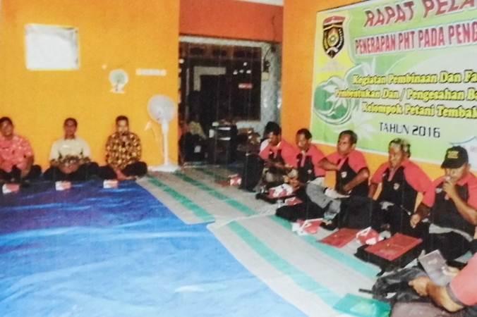 Petani Tembakau Ngawi Dibekali Pengendalian Hama Terpadu