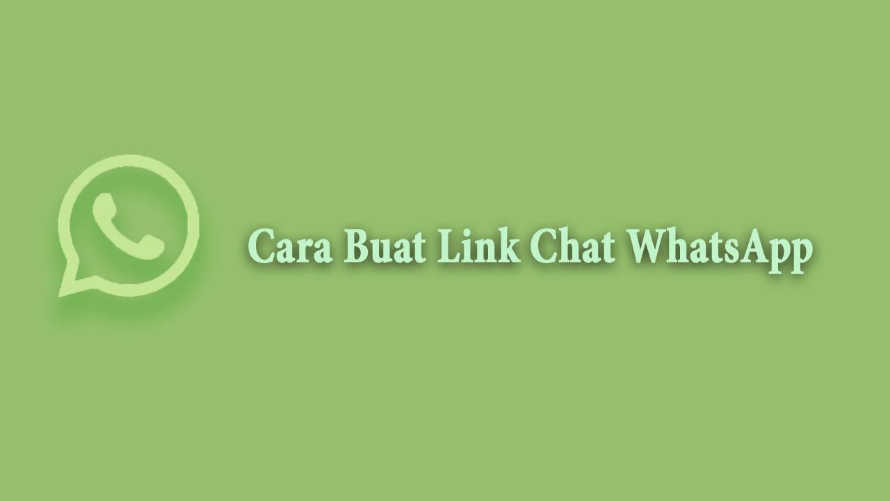 Link Chat WhatsApp