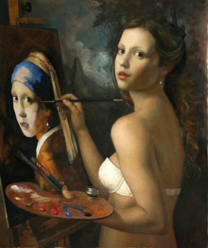 Cesor Santos | Figurative Paintings