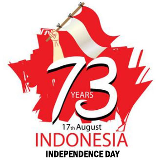 Happy Seventeen of August is The Proclamation of 73th Indonesian Independence