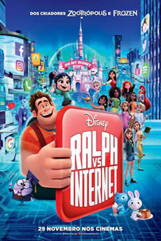 Baixar WiFi Ralph: Quebrando a Internet