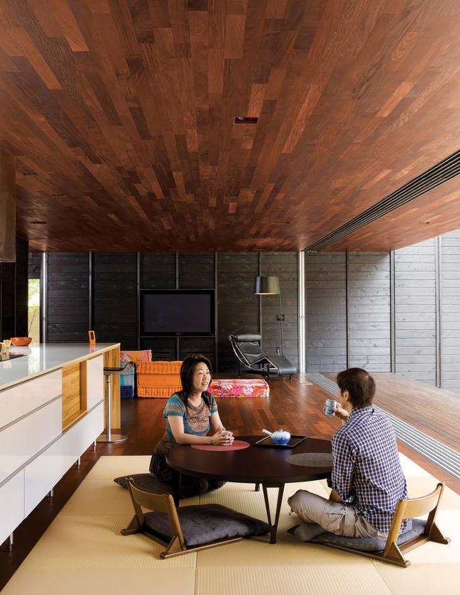 Die Wohngalerie Japanisch Angehauchte Baukunst In