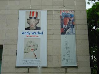 Andy Wahrol - Mr America, no Malba, Buenos Aires