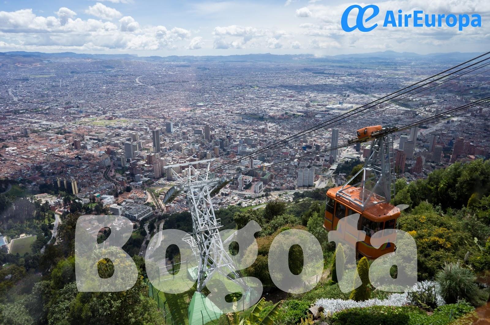 Aeropuerto de vigo blog enconexi n bogot desde 300 con air europa - Vuelos puerto asis bogota ...