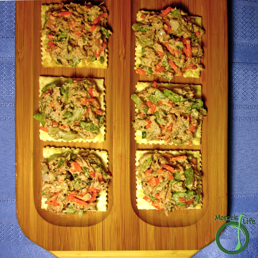 Morsels of Life - Tuna Salad - A flavorful tuna salad with the crunch of fresh celery, onion, and carrots.