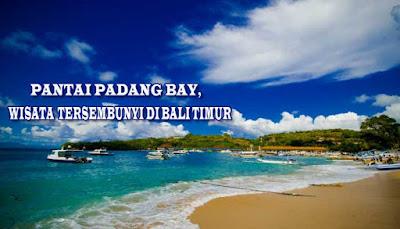 Pantai Padang Bai, Wisata Tersembunyi Di Bali Timur