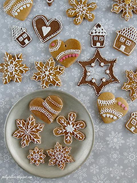 jak lukrować pierniczki i ciasteczka