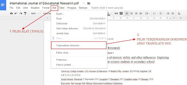 terjemahkan dokumen