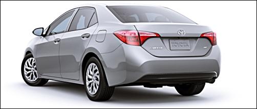 2017 Toyota Corolla Mid-Size Sedan