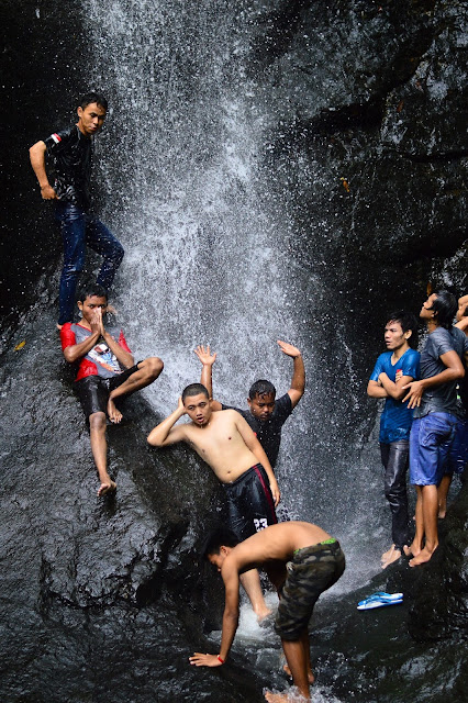 Indahnya Air Terjun Njero Kuwong Ponorogo