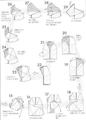 asociacion mexicana de papiroflexia  gurrion de miyamoto chuya