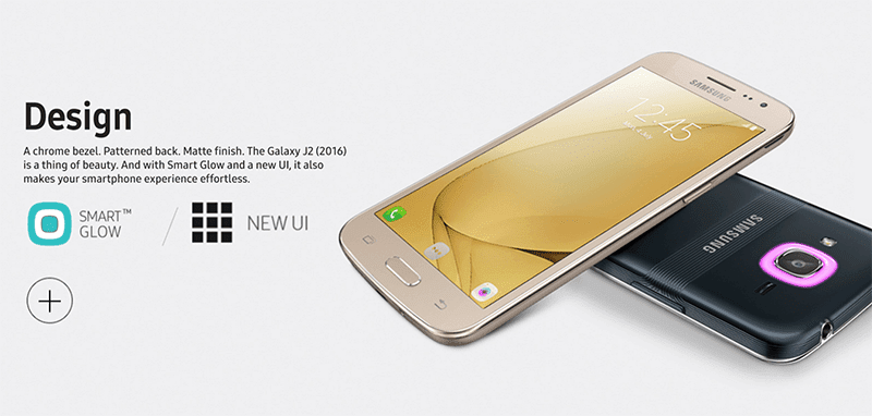 Samsung Galaxy J2 2016 Made Official, Features LTE And Smart Glow Notifications