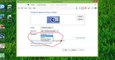 Cara mengembalikan layar laptop yang terbalik